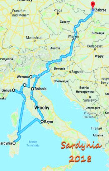 sardynia map